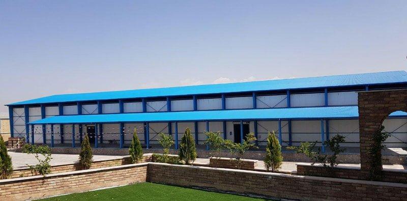 مجموعه سردخانه صنعتی آریا ظفر